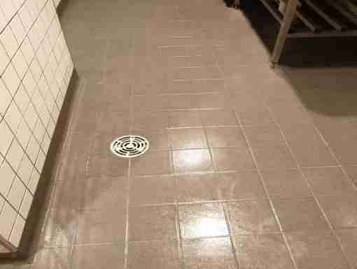 Epoxy Tile regrouting for commercial kitchens