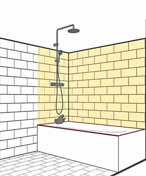 seal bathroom