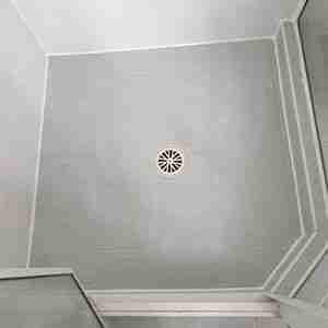 shower sealed